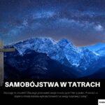 Samobójstwa w Tatrach